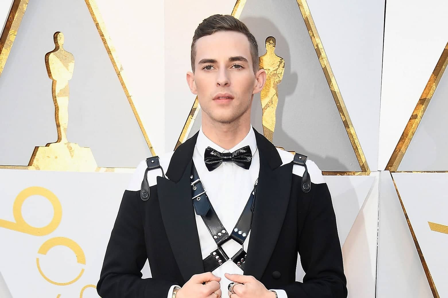 Adam Rippon leather harness one of best Pride outfits