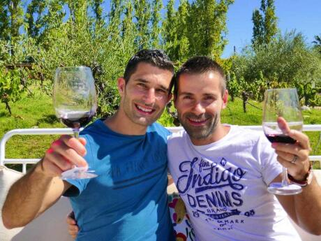 Exploring the wineries of Mendoza, Argentina.