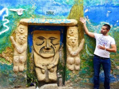 Bogota gay guide street art in Candelaria