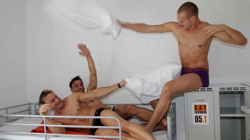 The Gay Hostel in Berlin is one of the most fun places for gay travellers to Berlin to stay!