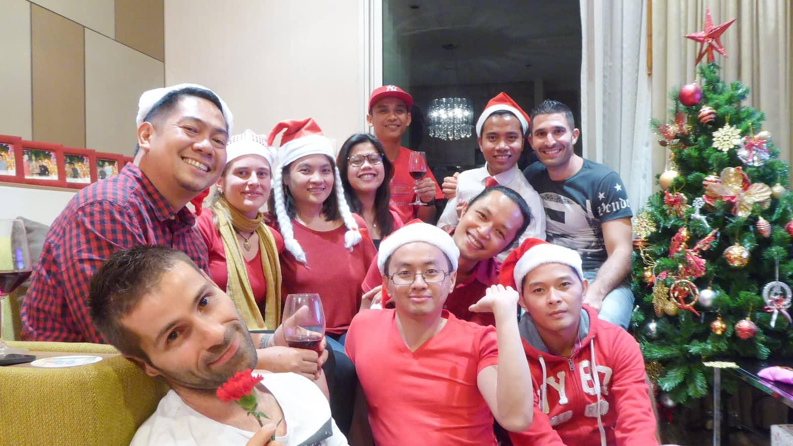 Xmas with our gay Filipino friends