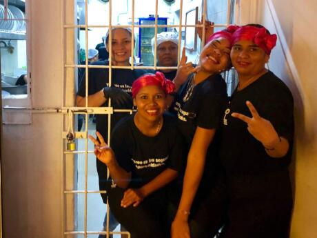 Have a yummy meal and support a worthwhile initiative at Interno, a restaurant staffed by female inmates