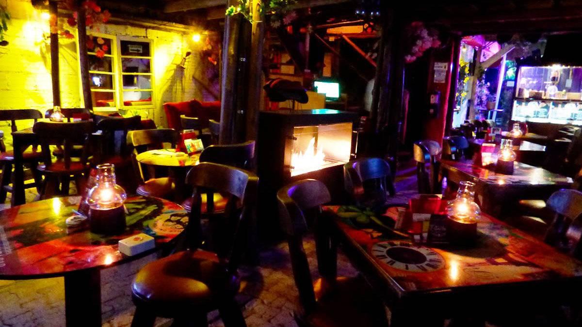 La Estacion gay bar has a very cosy chilled out vibe.