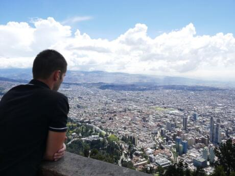 Hike or catch a cable car to the top of Monserrat Mountain for incredible views over Bogota.