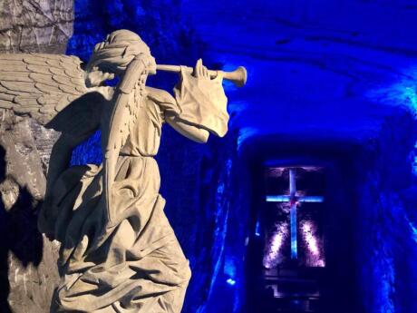 Gay Bogota - don't miss out on a day trip to the amazing salt cathedral.