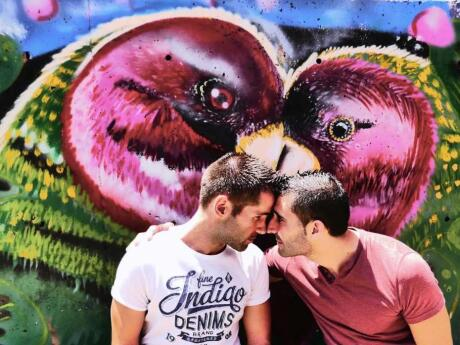 Gay Medellin - make sure you spend some time exploring the graffiti art in Comuna 13.