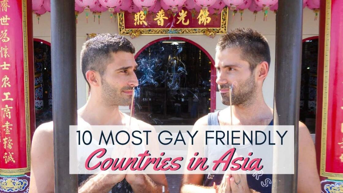 10 most gay friendly countries in Asia