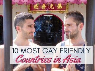 The 10 most gay friendly countries in Asia