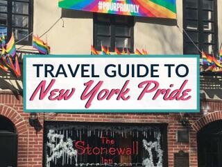 Our complete guide to celebrating gay pride in New York City, complete with the best gay places to stay and things to do