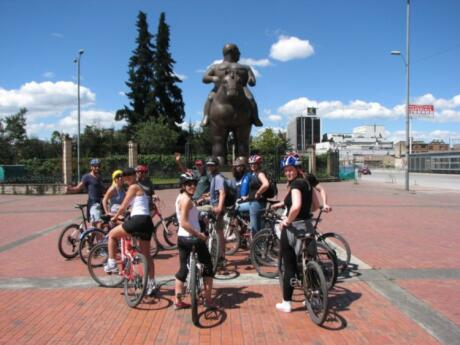 Cycling is a fun way for gay travellers to Bogota to explore the city.