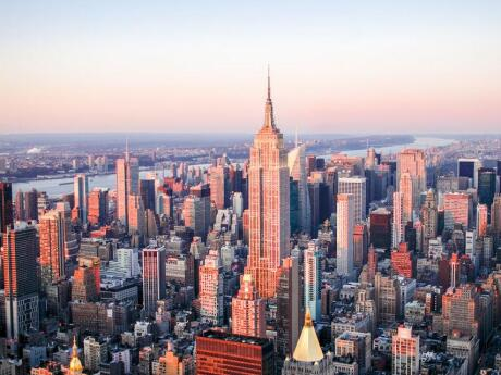 Visit the viewing platform of the Empire State Building for incredible views of New York City - or the Top of the Rock if you want the Empire State in your photos.