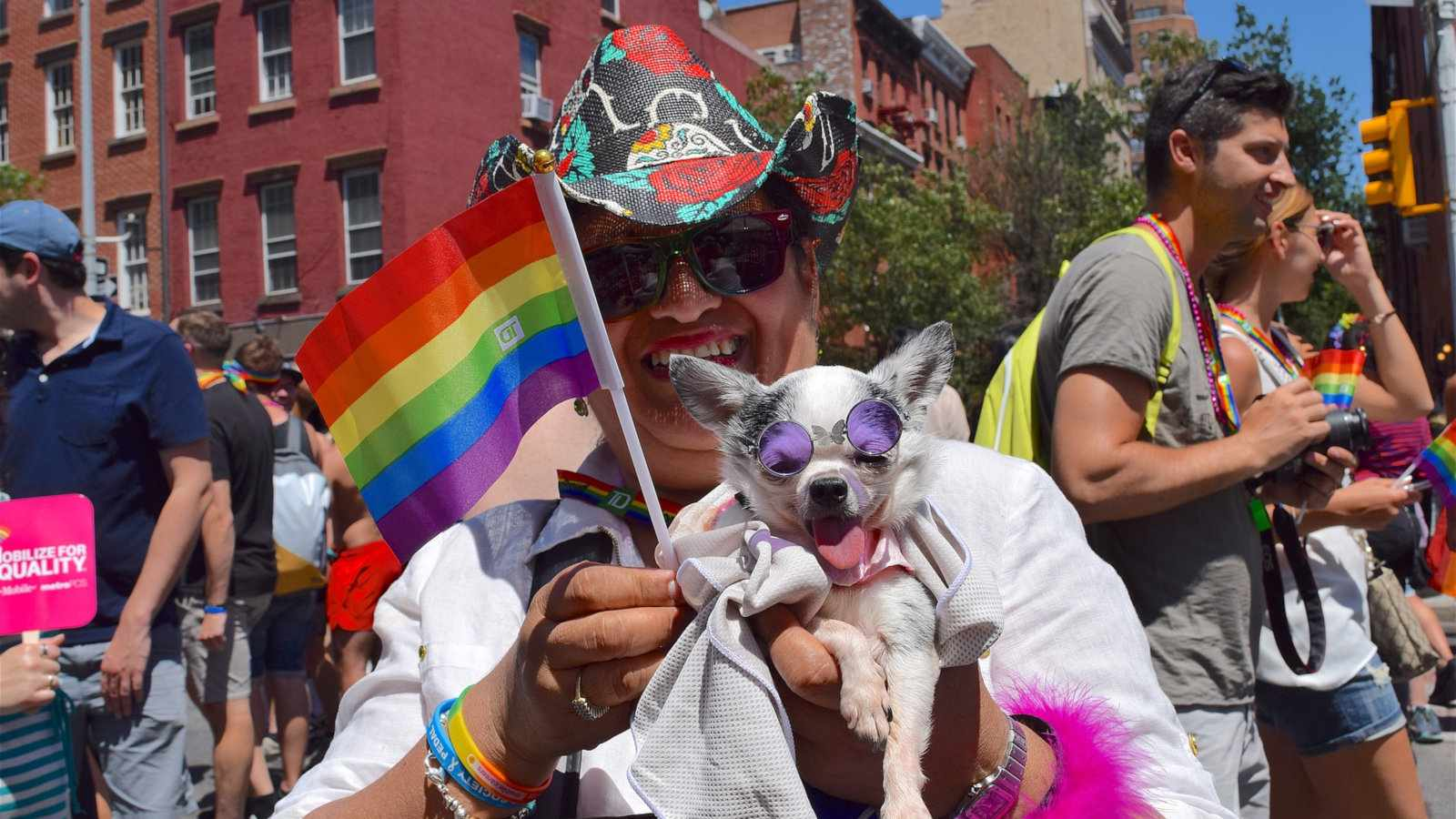 The Pride Parade is an integral celebration for Pride New York