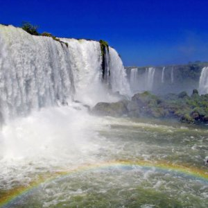 Visit both sides of Iguazu Falls to see all the best views.