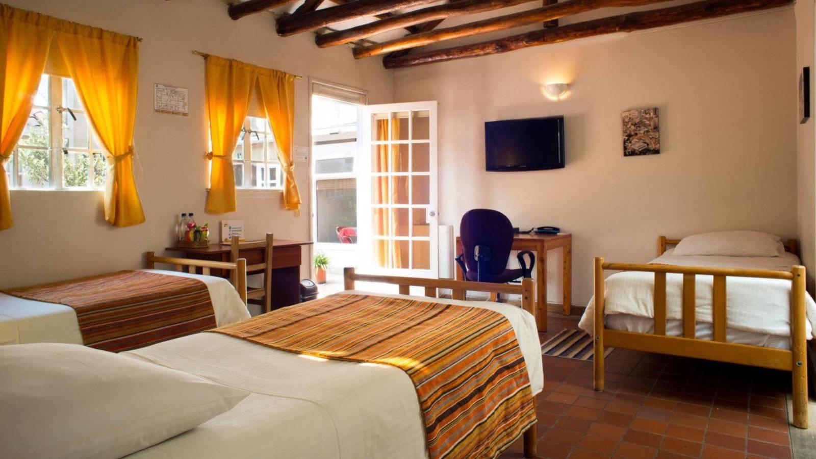 Gay hotels in Bogota - Hotel Casona del Patio is cosy and quiet.