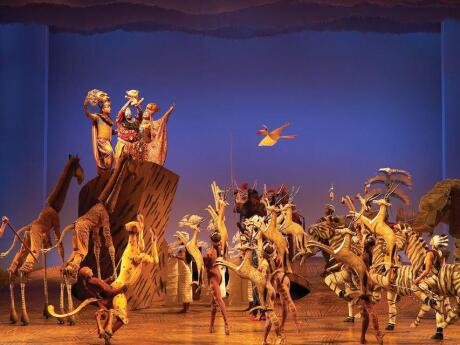 Seeing a Broadway show is a must for visitors in New York and The Lion King is our favourite!