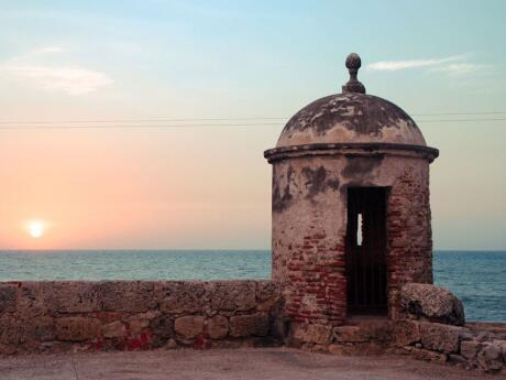 Gay Cartagena - for the best views over the city visit the San Felipe Castle in Cartagena