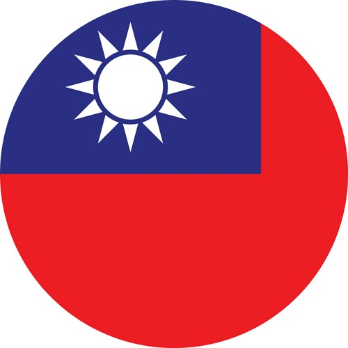 Taiwan flag for one of the most gay friendly countries in Asia