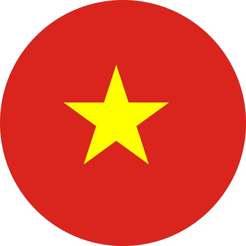 This is the round Vietnam flag in our best gay countries in Asia article