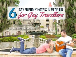 Our six top picks of gay friendly hotels for gay travellers to Medellin to stay