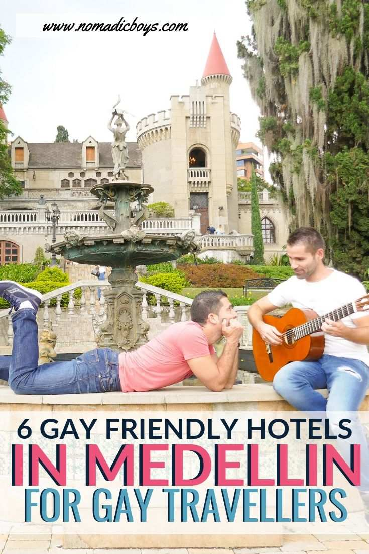 Medellin is a fun city for gay travellers to Colombia, here are our top picks for gay friendly hotels for gay travellers to stay in while in Medellin