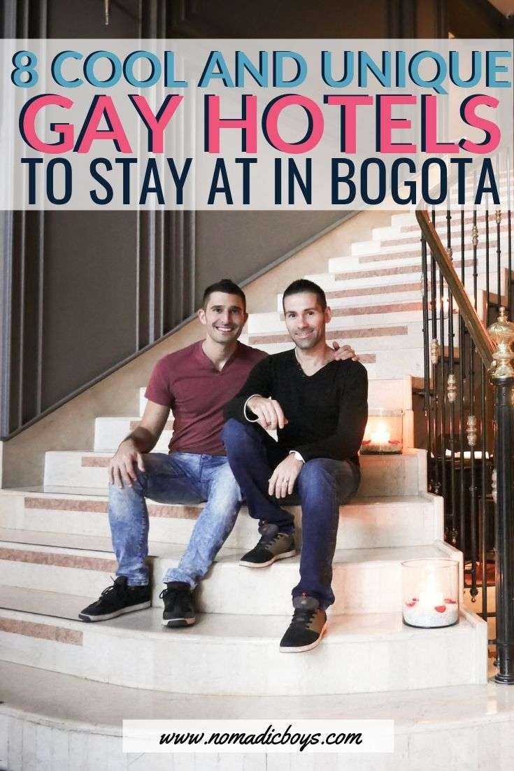 Our guide to the 8 coolest, most unique and gay friendly hotels to stay at in Bogota, Colombia.