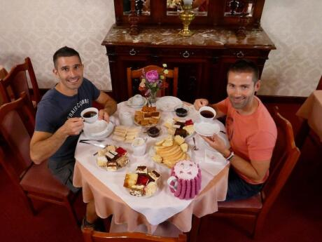 Argentina gay travel - you can even have afternoon tea in the traditional Welsh tea house that Princess Diana visited!