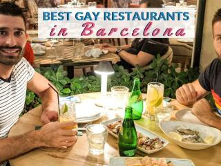 Our top picks for the best gay restaurants in Barcelona for delicious food and great company!