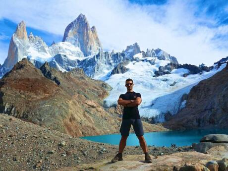 Marvelling at the Fitz Roy El Chalten mountain is a must do for travellers in Argentina