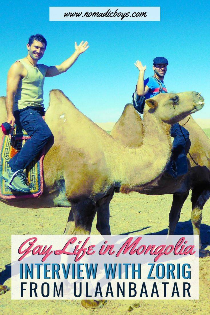 The Nomadic Boys meet and interview Mongolian gay local Zorig from Ulaanbaatar.