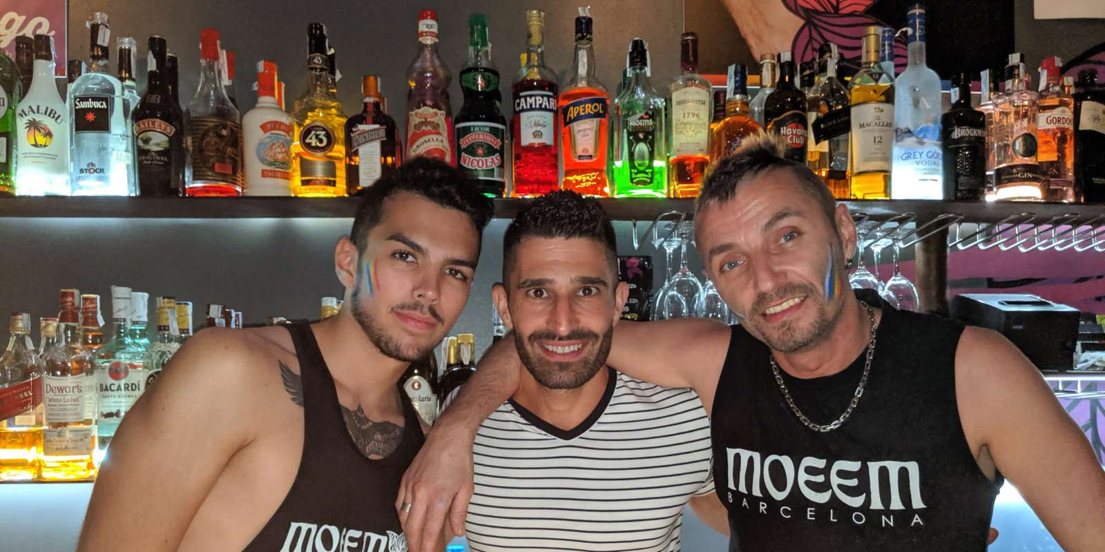 Explore some of Barcelona's best gay bars on a private gay night tour!