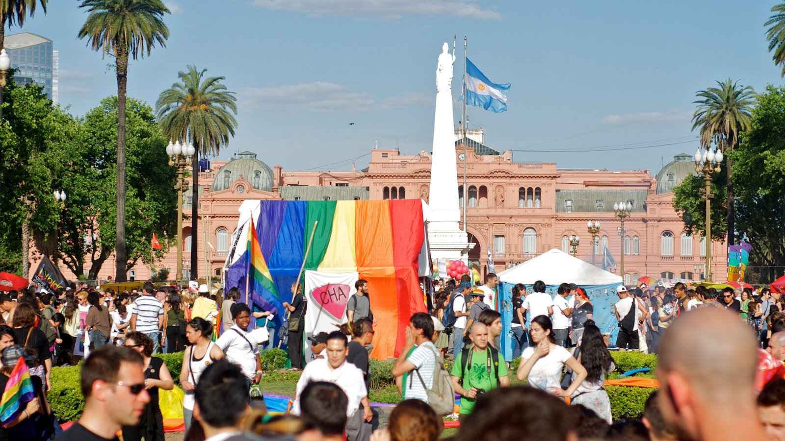 Argentina has some of the most progressive gay rights laws in South America