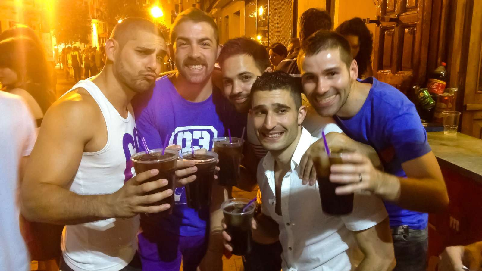 Madrid's Pride event is the biggest in Spain and one of the biggest in the world so you're going to have a wonderful time!