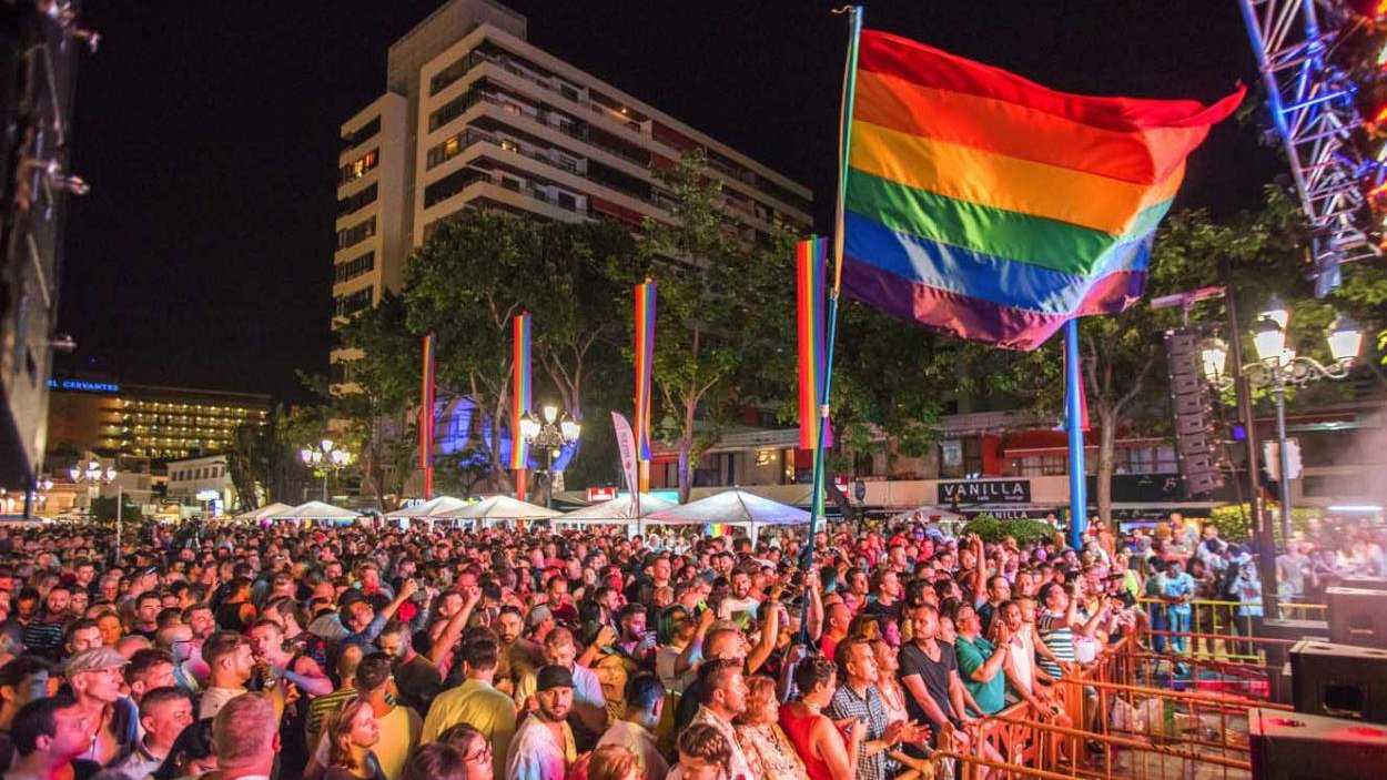 Torremolinos Pride in the south of Spain is another one of the best gay pride events in Spain