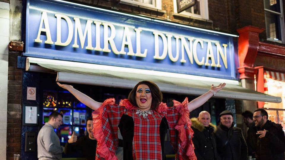 Admiral Duncan is a mainstay in London's LGBTQ+ scene, with some of the best drag performances ever