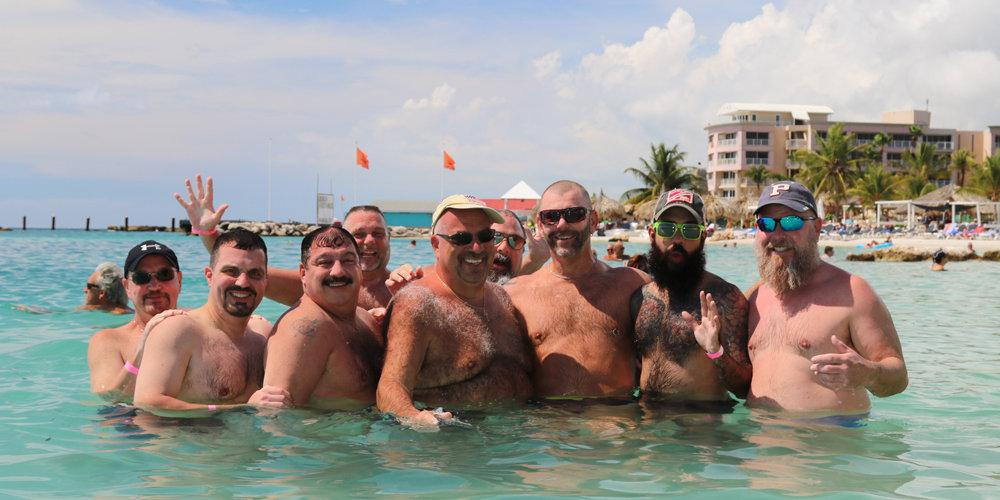 Experience the Caribbean with your new gay bear family on an Adventure Bears cruise