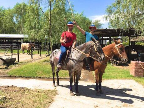 Learn to play polo at a traditional estancia in Argentina