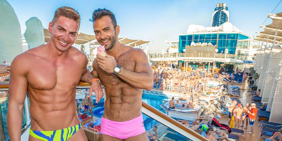 Party on the high seas with Atlantis on the largest gay cruise  in the world!