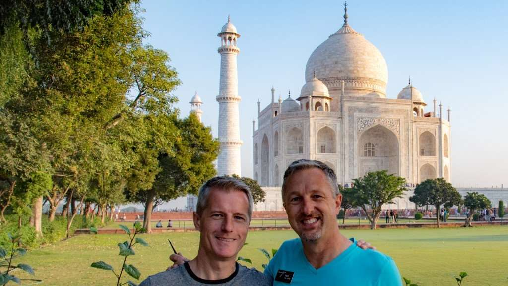 See the Taj Mahal and other amazing sights in India on an LGBT Ganges river cruise