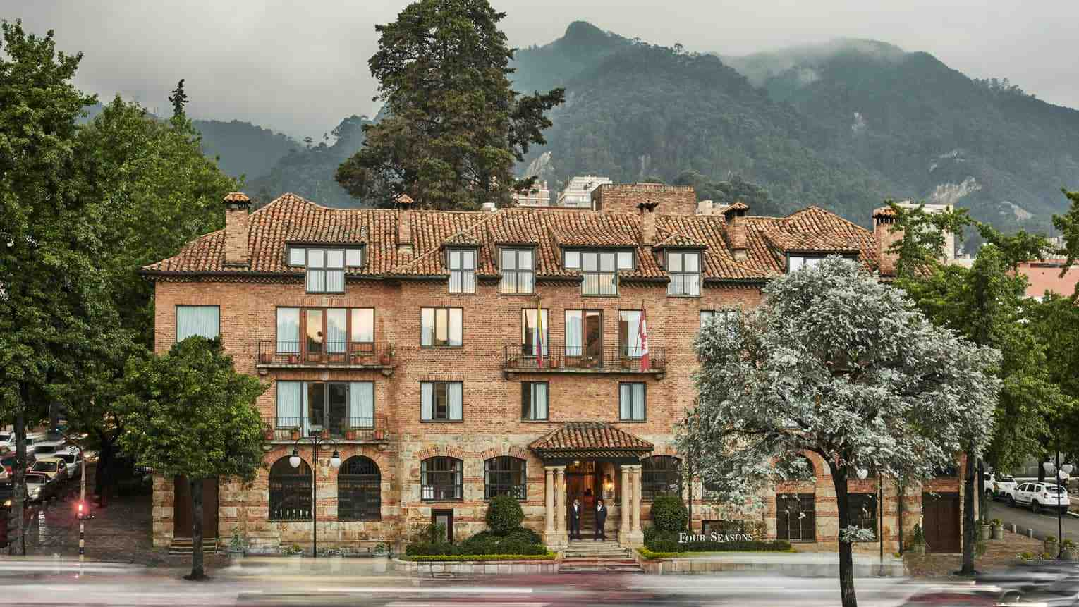 For grandeur and luxury in a gay friendly hotel, don't miss the Four Seasons Casa Medina in Bogota