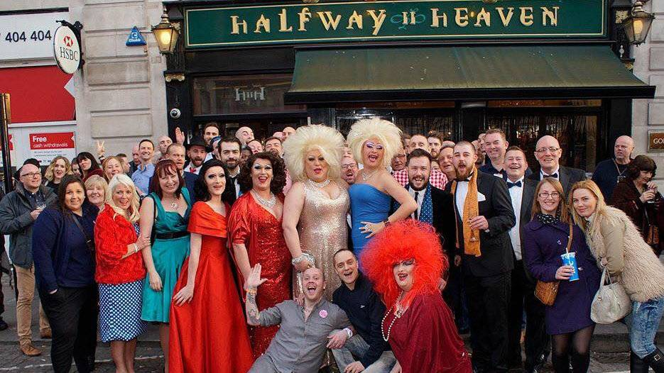 Halfway to Heaven will entertain you with fiery drag acts, friendly patrons and delicious drinks!