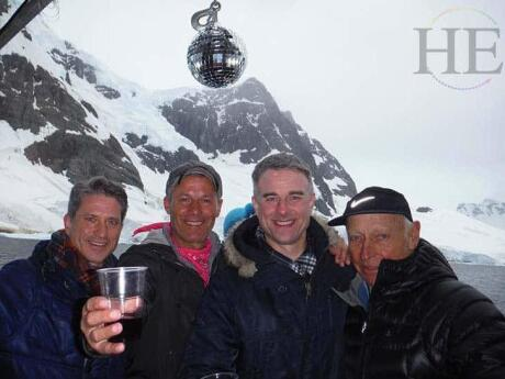 For an incredible experience, cruise from Argentina to Antarctica on a gay tour with HE Travel