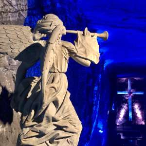 A day trip to the Salt Cathedral is a must do for gay travellers to Bogota