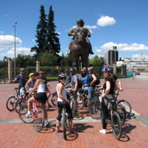 Bogota is a fun city to explore by bicycle, which you can do by yourself or with a guided tour