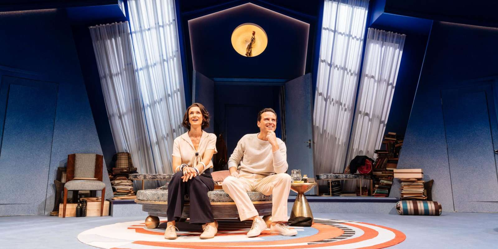 Noel Coward's play Present Laughter has been re imagined with a bisexual bent in this version showing in London
