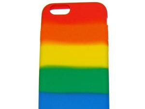 A brightly coloured phone case is one accessory you need for pride!