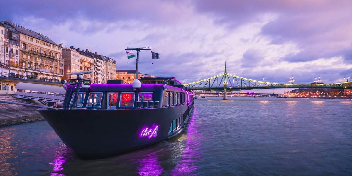 Sail on the purple A Ship on an lgbt Danube cruise