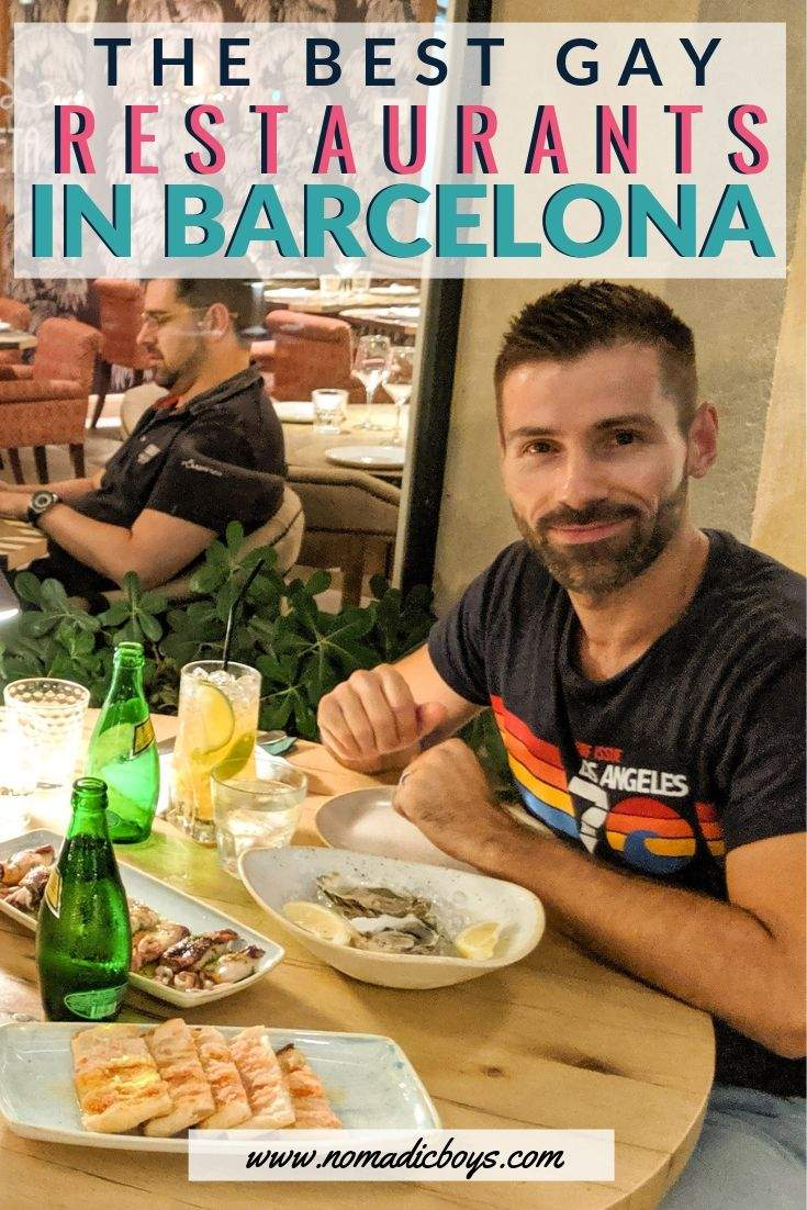 Our favourite gay owned and gay friendly restaurants in Barcelona for a delicious meal!