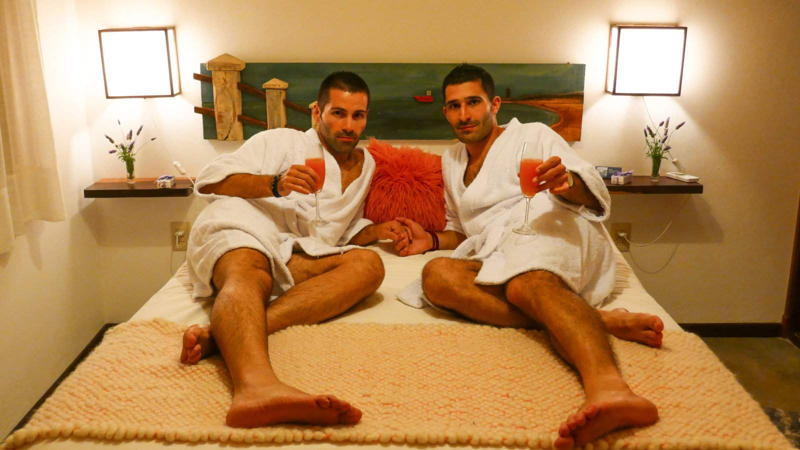Alma de la Pedrera Villaggio and Spa is an ultra romantic hotel and spa that welcomes gay travellers with open arms