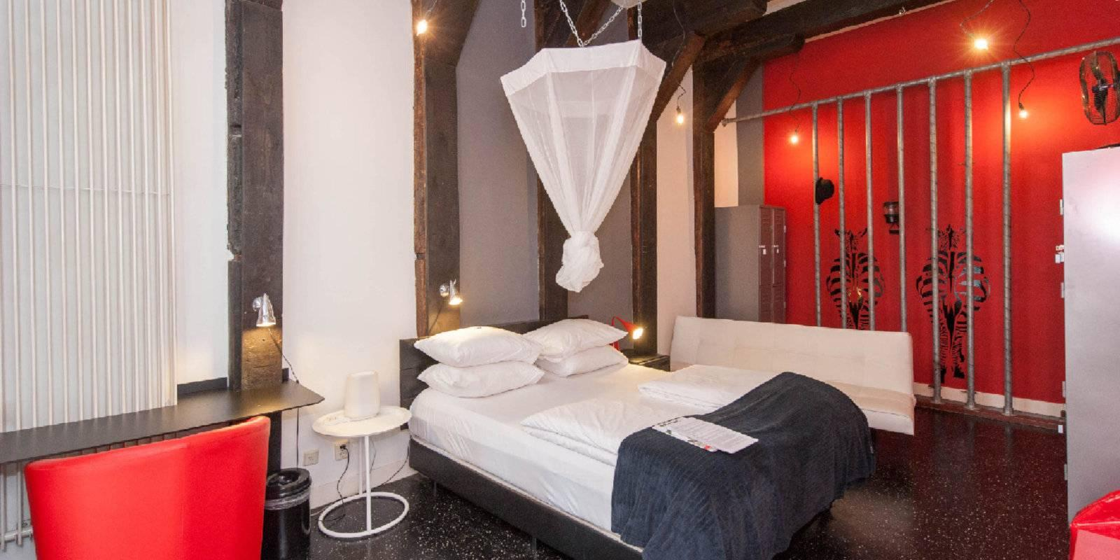Mauro Mansion is a chilled out hotel in Amsterdam that used to be a sex hotel and still has a bit of a naughty vibe!
