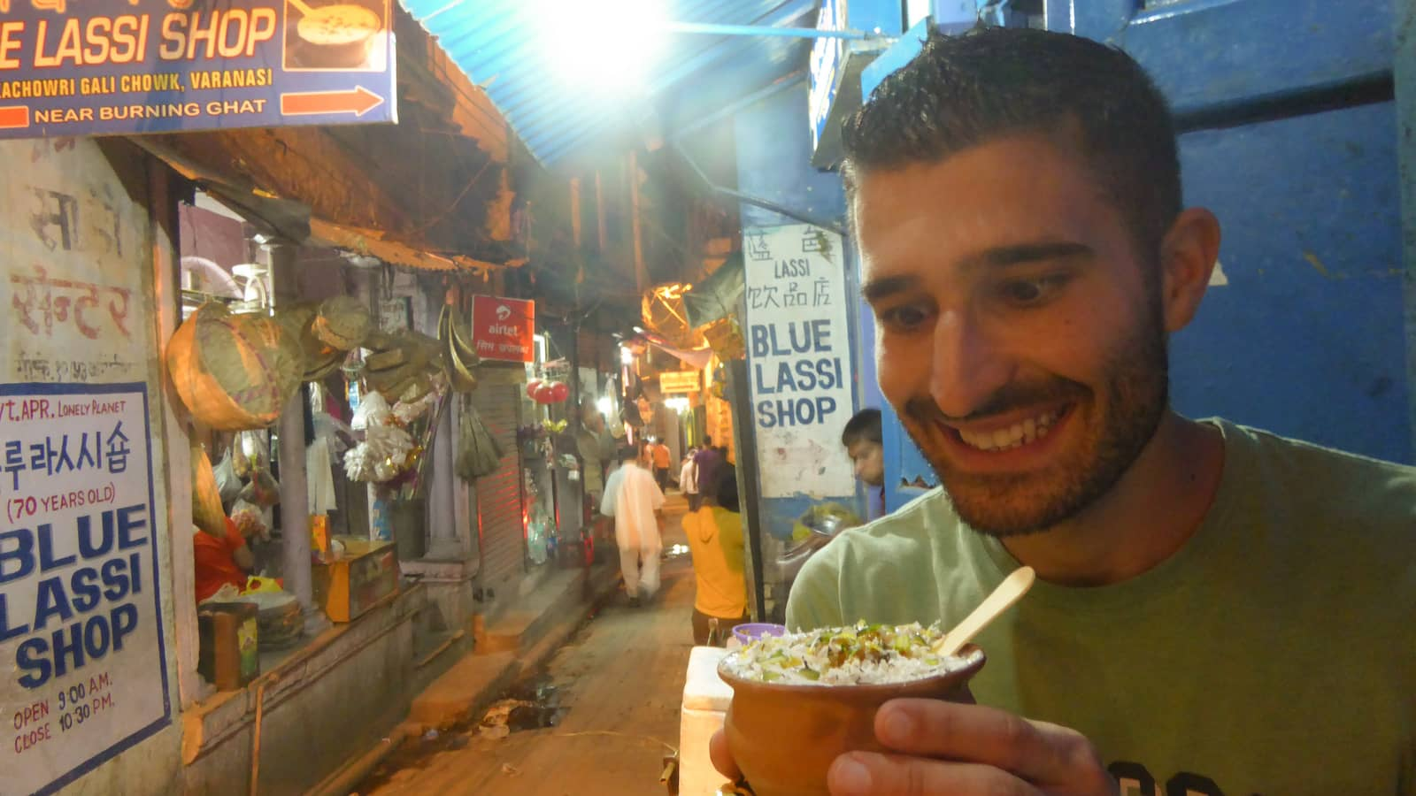 Blue Lassi gay friendly bar in Varanasi